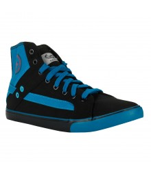 Vostro Black Blue Casual Shoes for Men - VCS0309